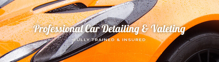 Professional Car Detailing and Valeting. Trained and Insured.